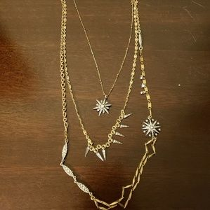 Starburst convertible necklace